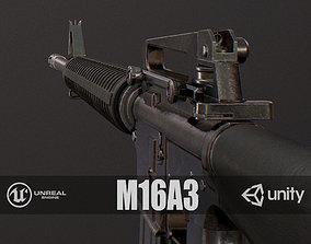 3D asset PBR M16A3