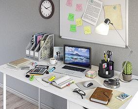 Workplace set 1 3D model