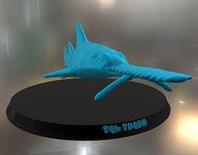 Saw Shark 3D print model