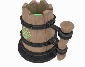 3D asset realtime Mug With a Potion