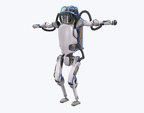 3D model game-ready Atlas Robot Boston Dynamics