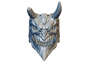 Demon ring monster 3D printable model