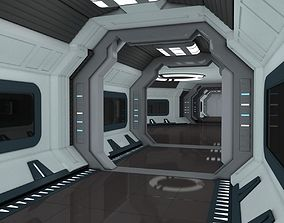 Modular Spaceship Interior 3D