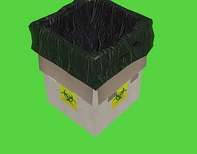 Medical Box Low Poly 3D asset