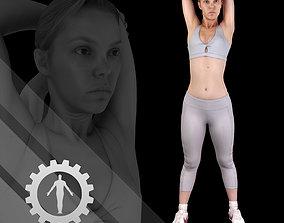 3D PBR Female Scan - Olga 86
