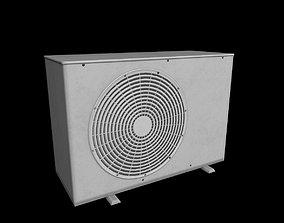 3D asset Air conditioning outdoor unit