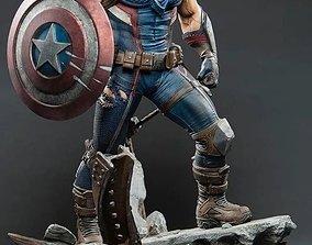 buckybarnes 3D printable model Captain America Hydra