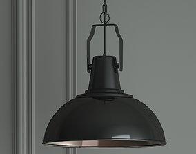 3D Hanging lamp Gloss Black by Romatti