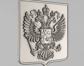 The emblem of Russian Federation 3D printable model