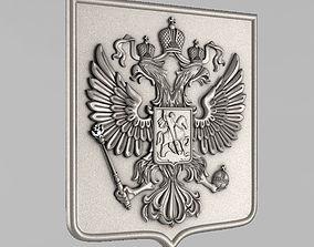 The emblem of Russian Federation 3D printable model