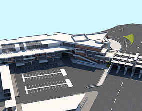 3D model Border Control and Administration Buildings