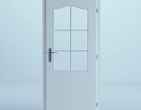 White Door 44 white 3D