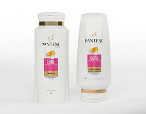 3D Pantene Pro-V Curl Perfection Shampoo and