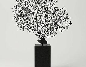 3D model Black Gorgonaria Decoration