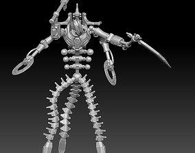 Sicario Space Zombie Robot 3D printable model