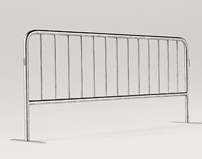 3D model Street Fence