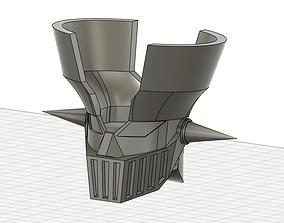 mazinger z head and hober pilder 3d printing model