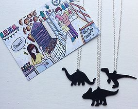 3D print model Dinosaurus pendants