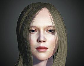 3D model Unity Digital Human RH004