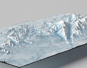 3D model Artic Landscape