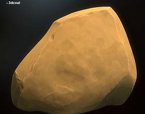 Fantasy stylized stone 6 3D