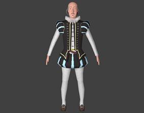 Shakespeare 3D model