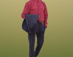 3D asset Bruce 10387 - Walking Business Man