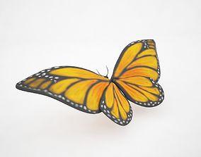 Butterfly 3D model VR / AR ready