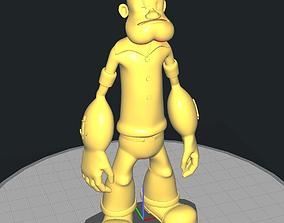 Popeye The Sailor 3D print model