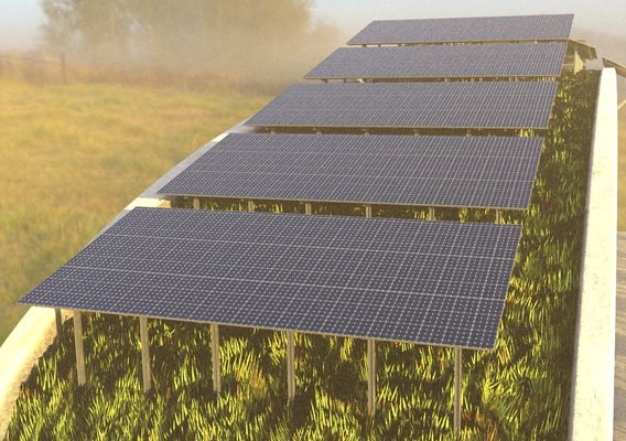 Solarmodule Version [4] 23m (Blender 2.93 Cycles Render 2)