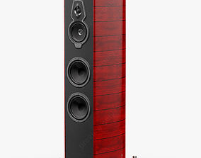 Sonus faber Serafino Tradition Red 3D model