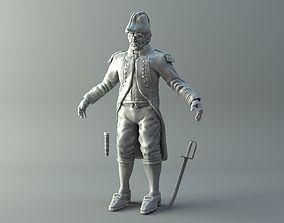 Naval Captain 3D printable model
