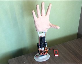 robot hand - bionic hand prosthesis 3D printable model