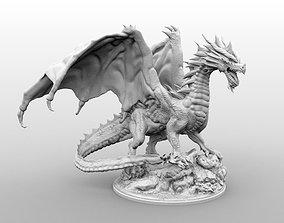 3D print model High Resolution Gargantuan Red Dragon
