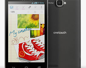 Alcatel One Touch 8000D Scribe 3D model