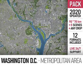 3D Washington DC Metropolitan Area