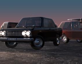 car kit asset for real-time graphics 3D model