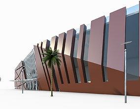 Shopping Mall 01 3D asset