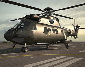 Eurocopter AS532 Cougar 3D
