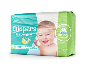 3D Diaper pack