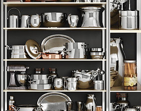 3D Large set for kitchen and cooking