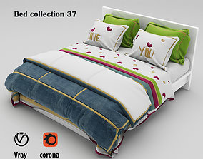 Bed collection 37 3D model