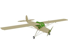 storch AIRCRAFT STORCH 3D model