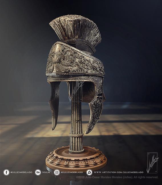 Roman helmet V01