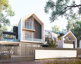 Exterior House Design 3 3D