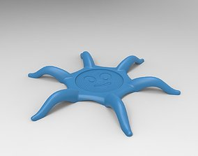3D printable model Octopus Coaster