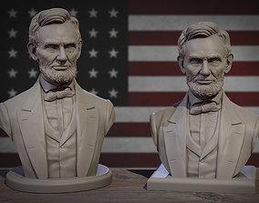 3D printable model Abraham Lincoln