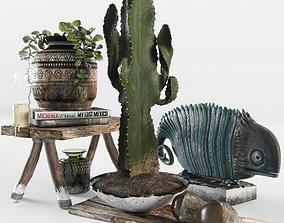 3D model Decorative ethnic set