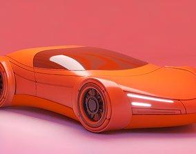 Future Car 27 3D