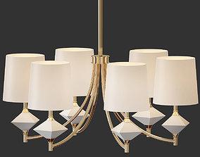 Robert Abbey Chandelier Lighting 3D model